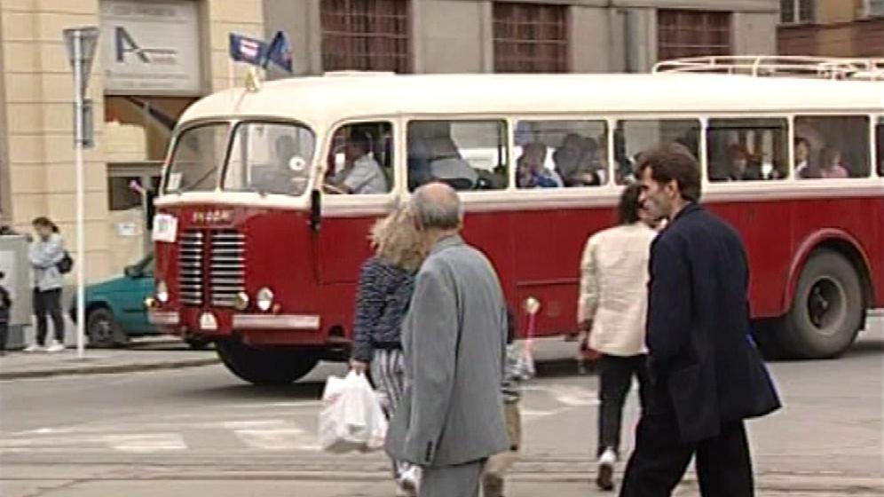 Přehlídka historie dopravy v Brně