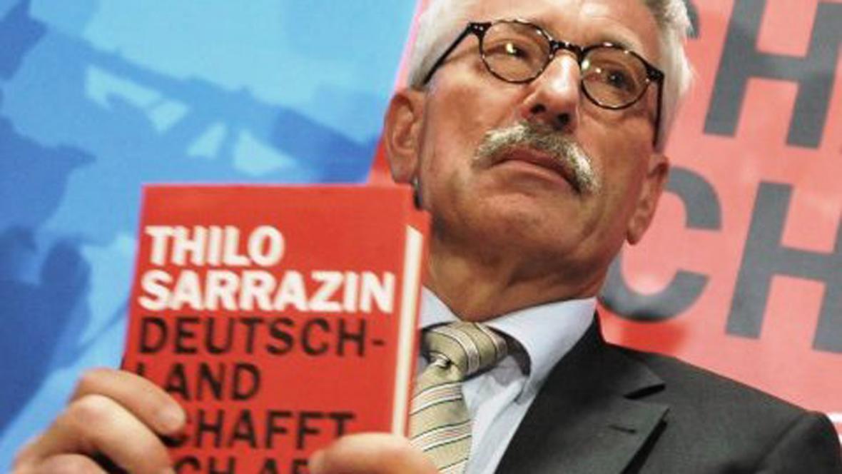 Thilo Sarrazin se svou knihou Deutschland schafft sich ab