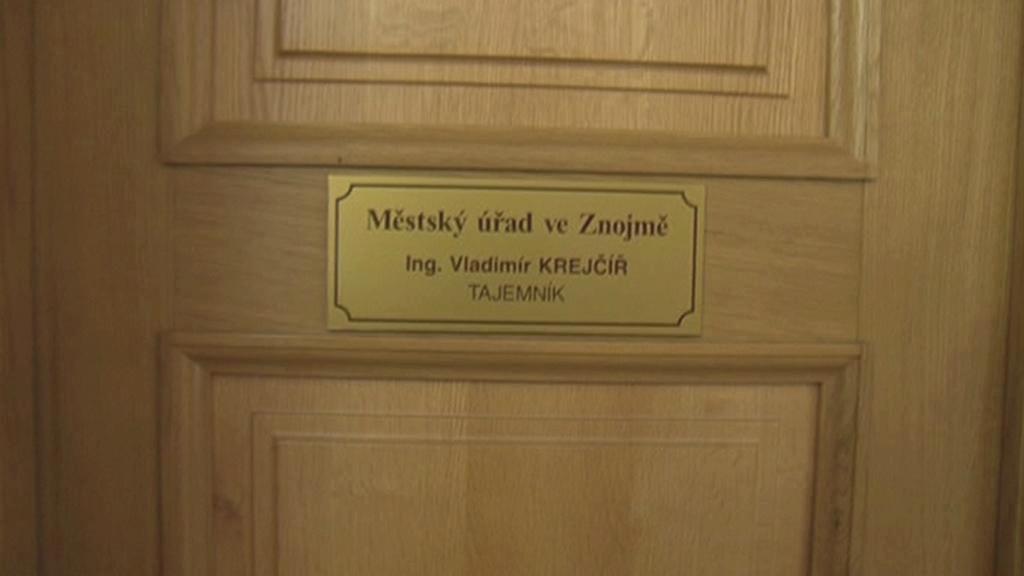 Kancelář bývalého znojemského tajemníka Krejčíře