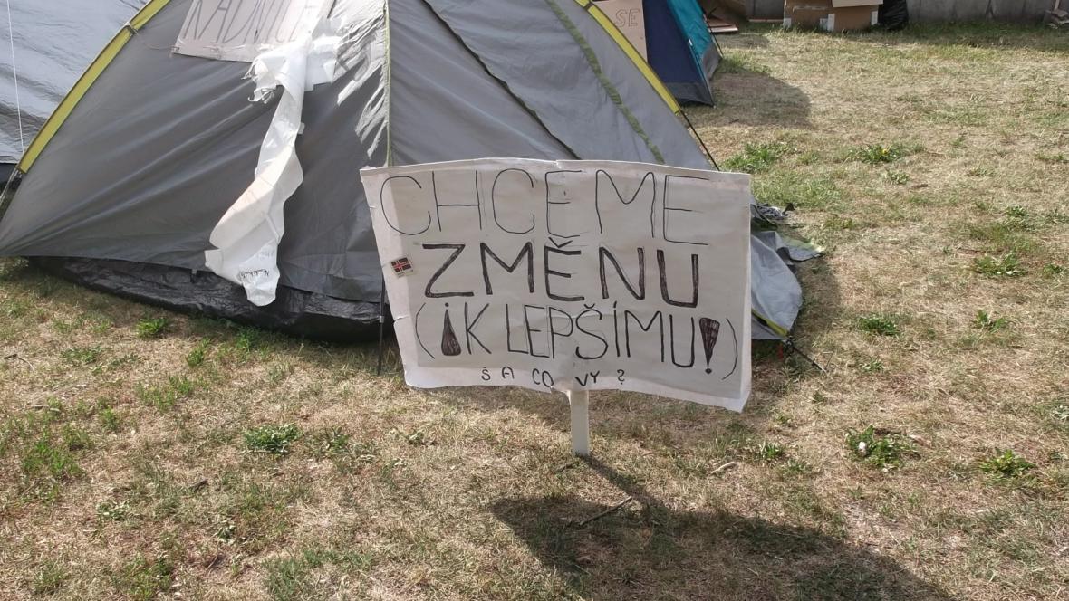 Brno okupují nespokojení občané