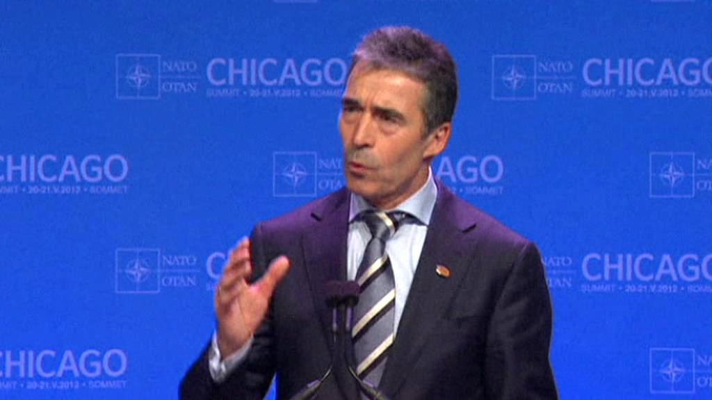 Anders Fogh Rasmussen na summitu NATO v Chicagu