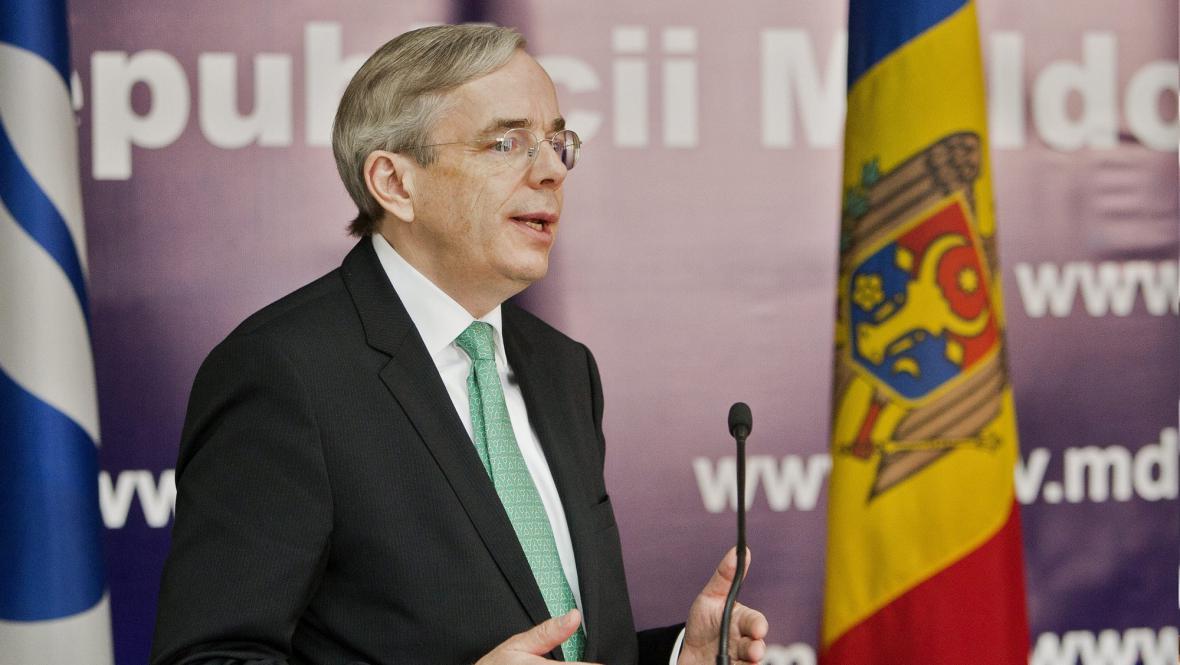 Odstupující prezident EBRD Thomas Mirow