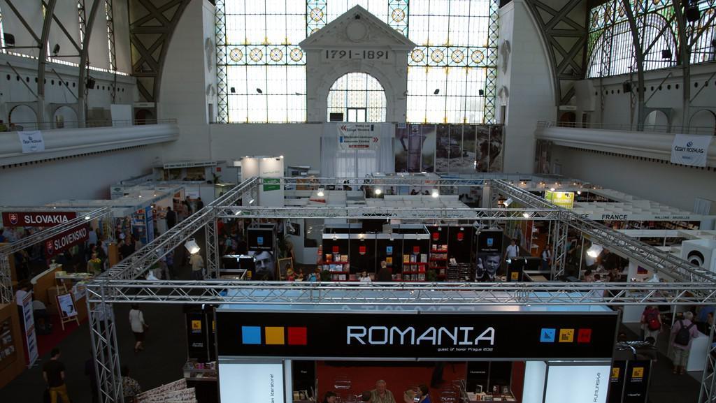 Svět knihy 2012 / Výstaviště Praha