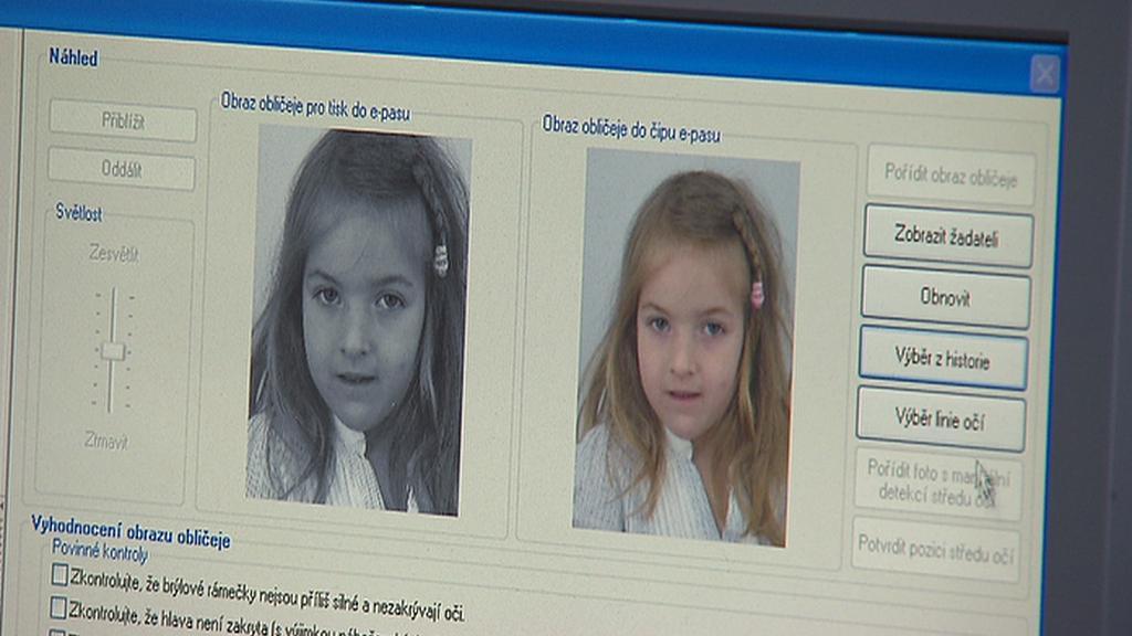 Fotografování do dětského pasu