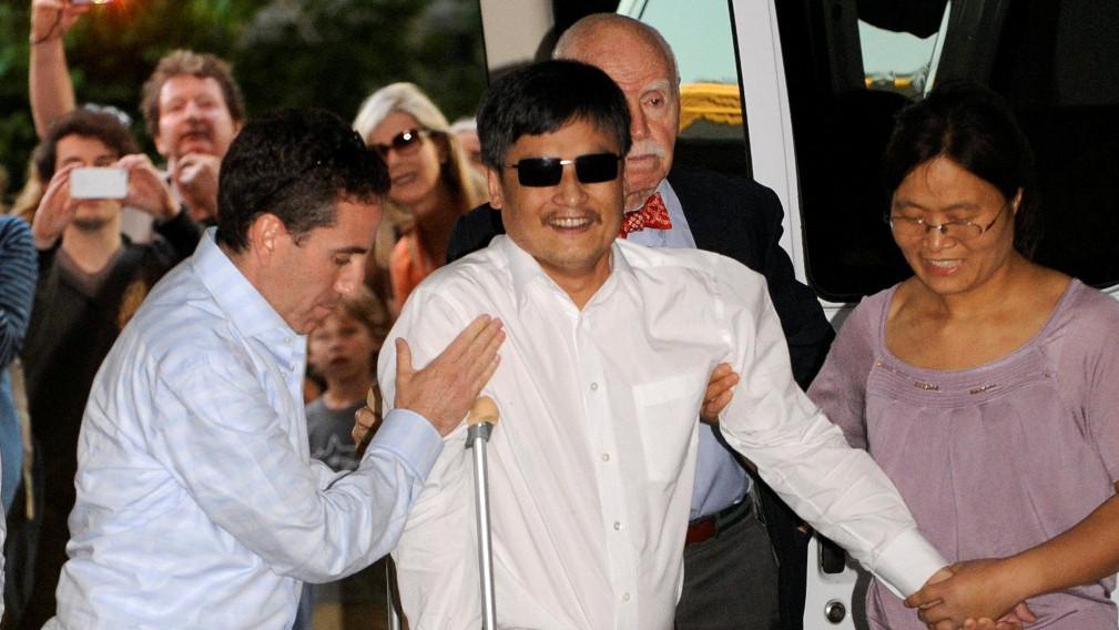 Disident Čchen Kuang-čcheng v New Yorku
