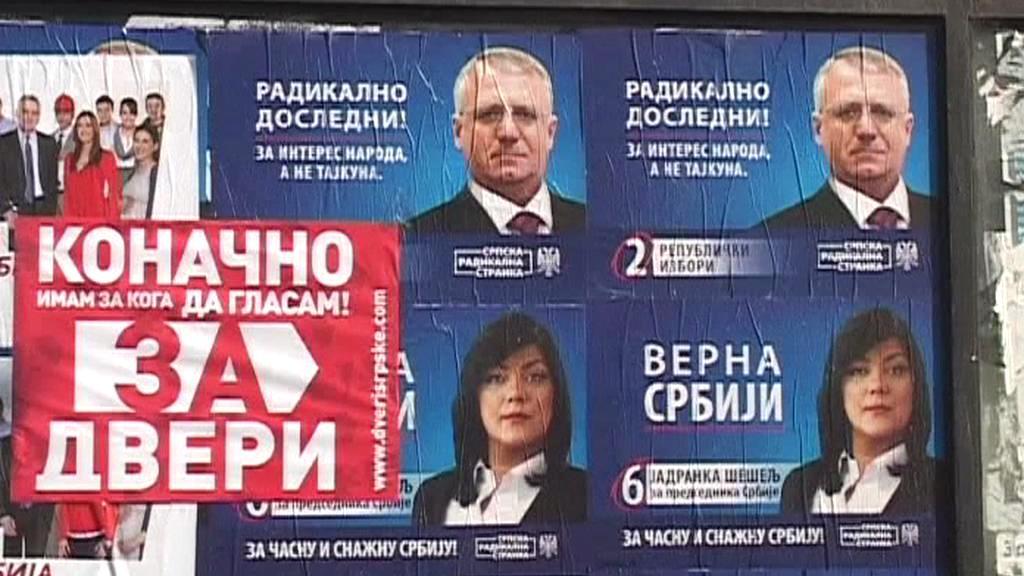 Volební kampaň v Srbsku