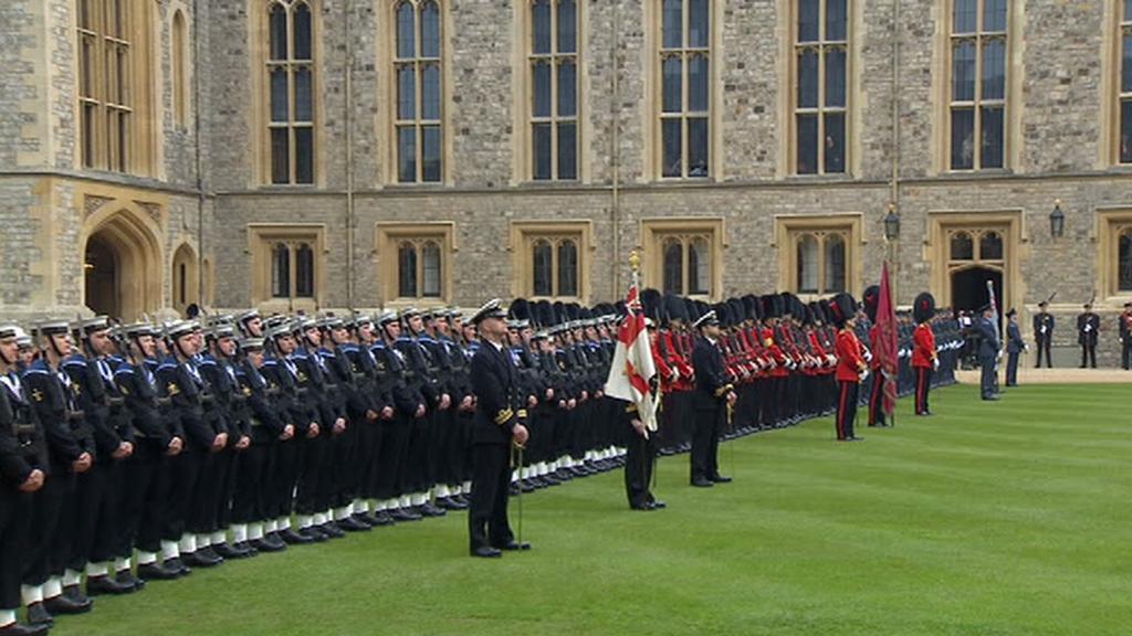 Vojenská přehlídka ve Windsoru