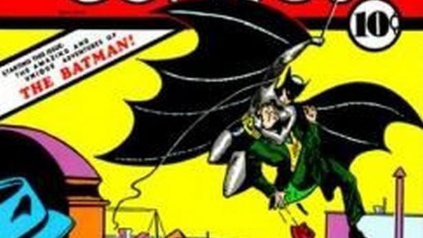 Přebal 1. vydání Batmana