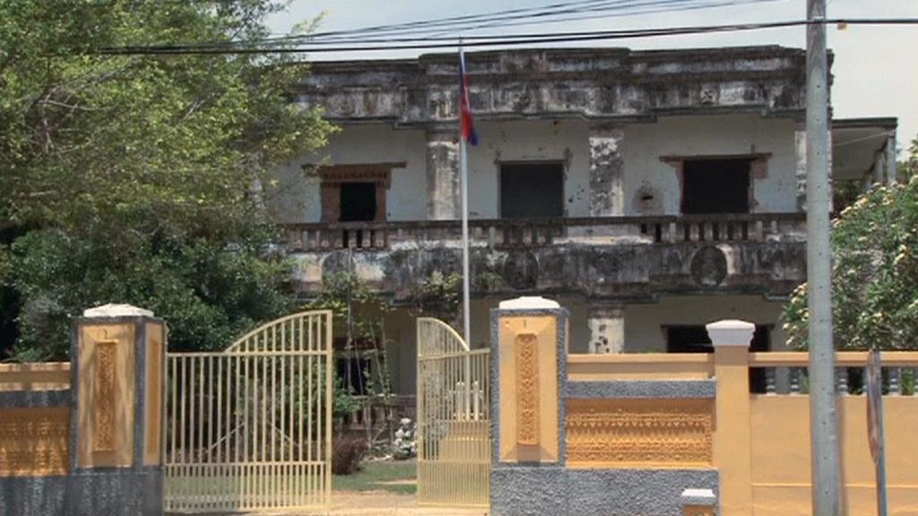 Vila v Kambodži