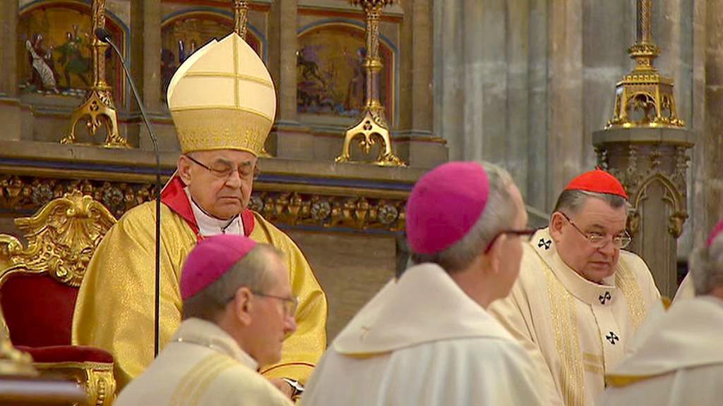 Mše v katedrále sv. Víta
