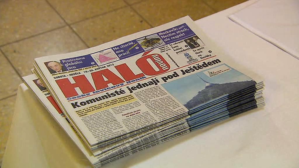 Haló noviny - sjezd KSČM