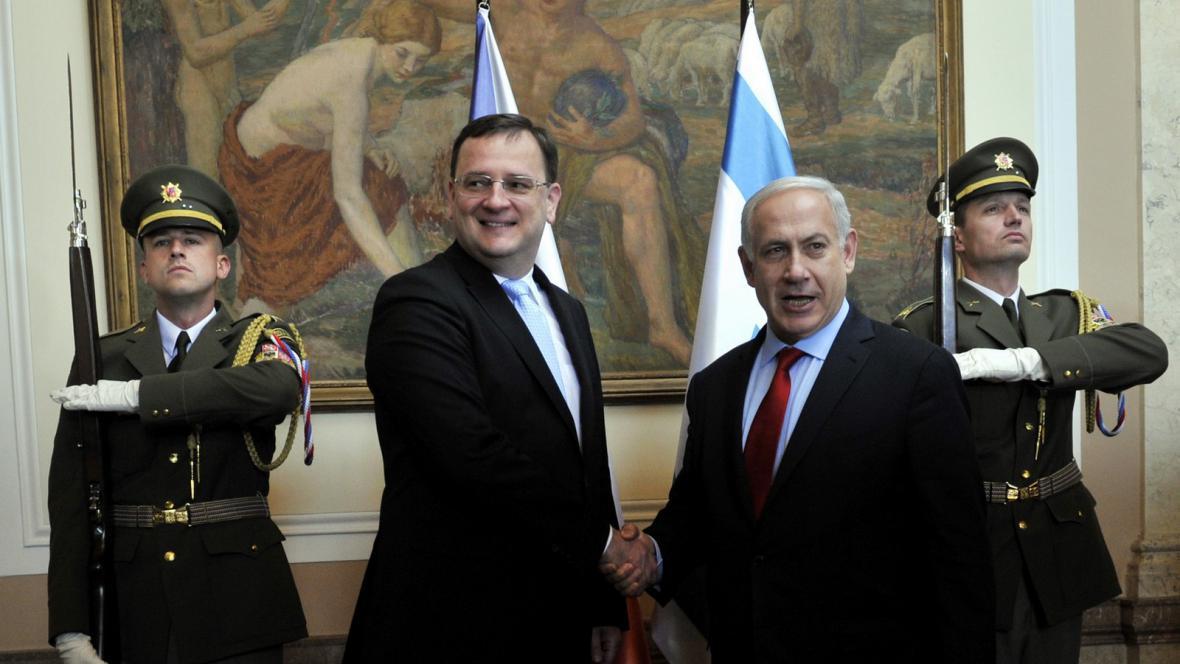 Návštěva Benjamina Netanjahua v Praze