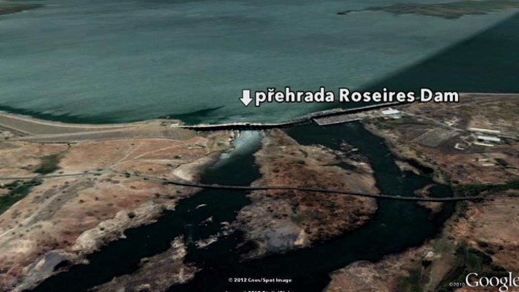 Přehrada Roseires Dam