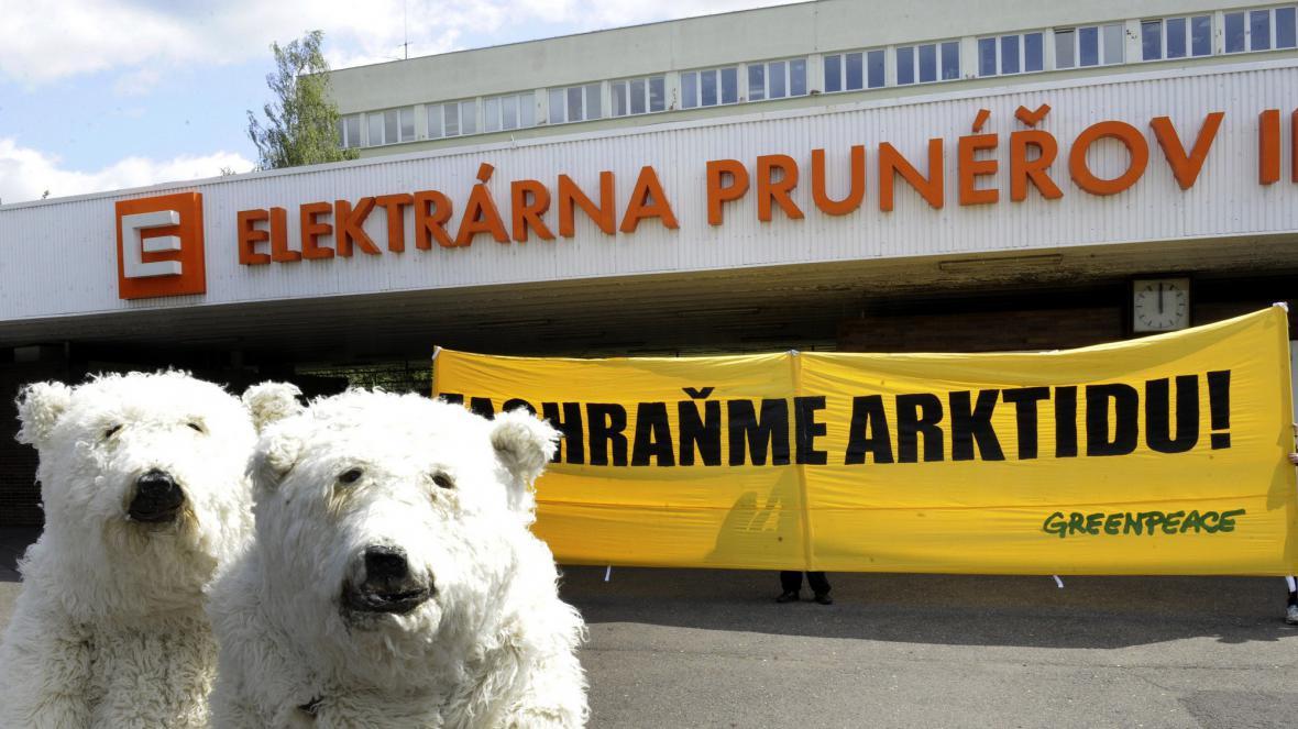 V Prunéřově demonstrovali ekologové