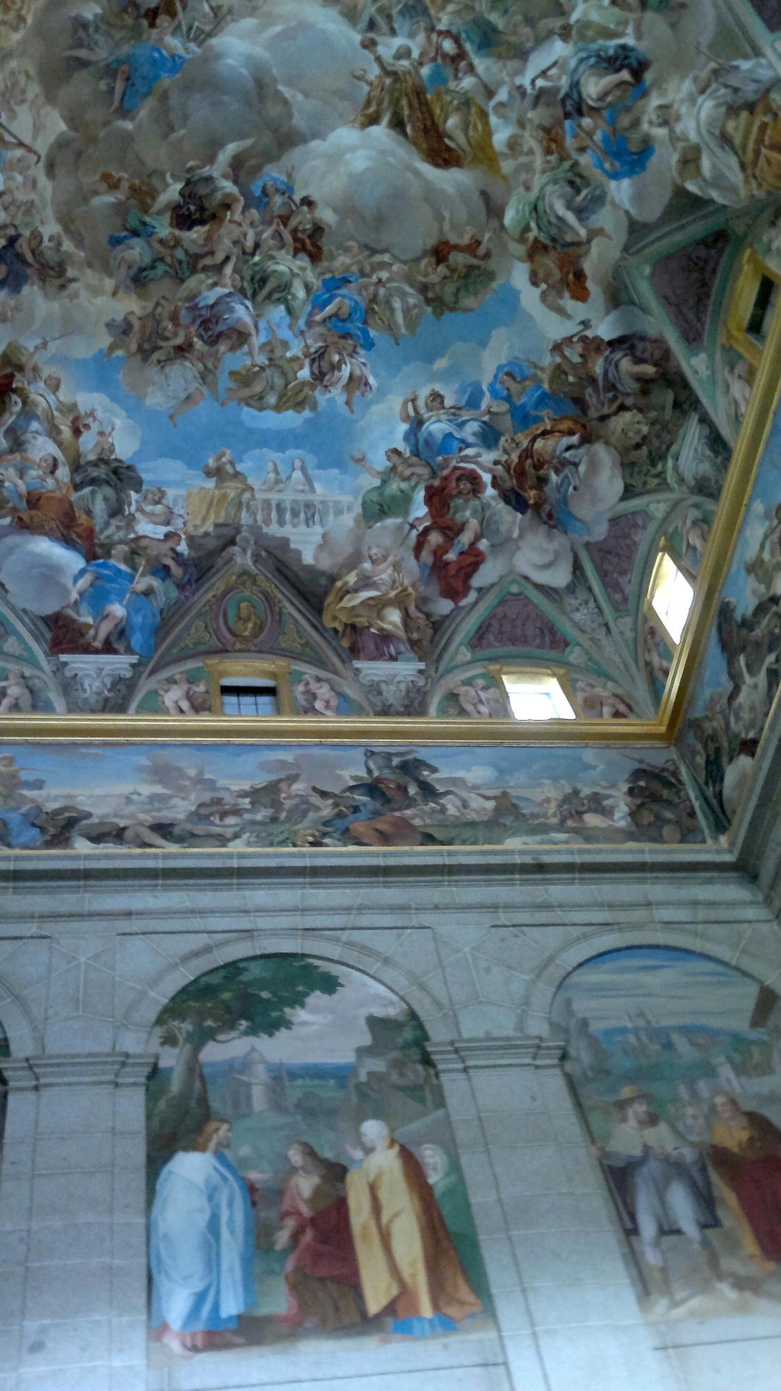 I El Escorial umí být zdobný