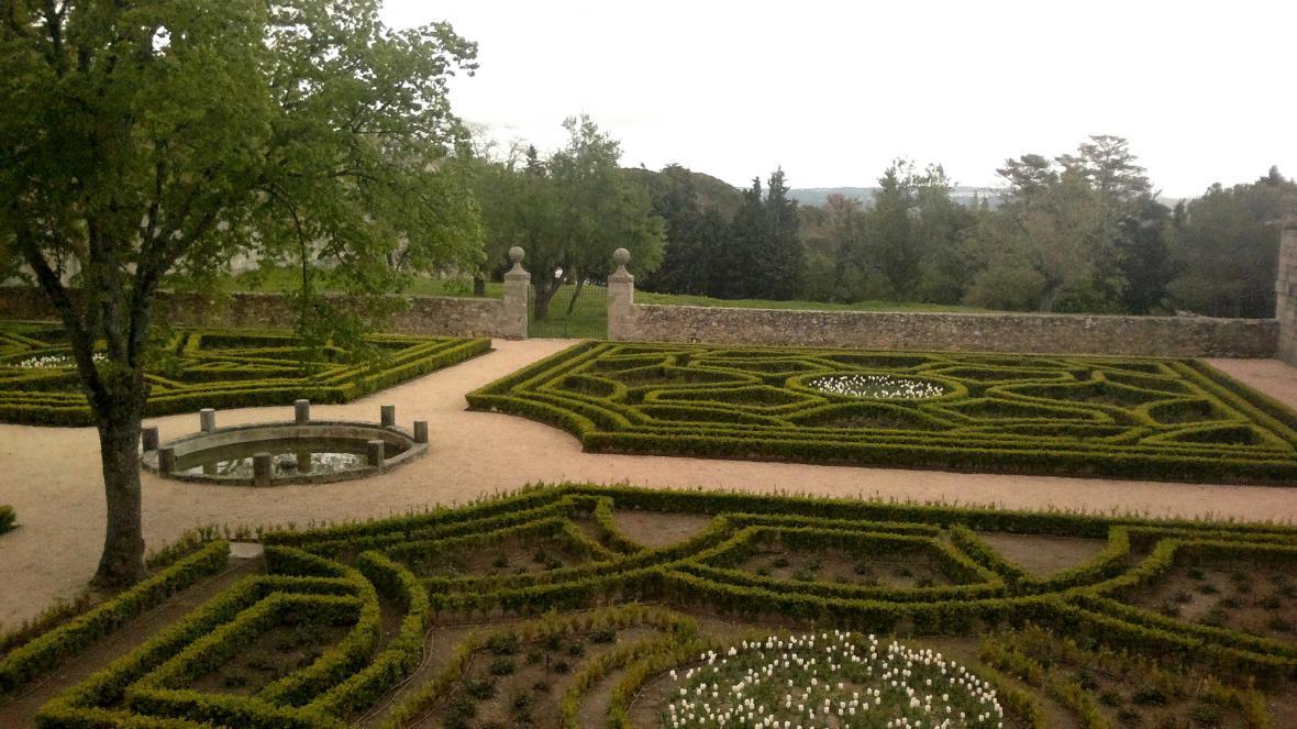 Zahrady paláce El Escorial
