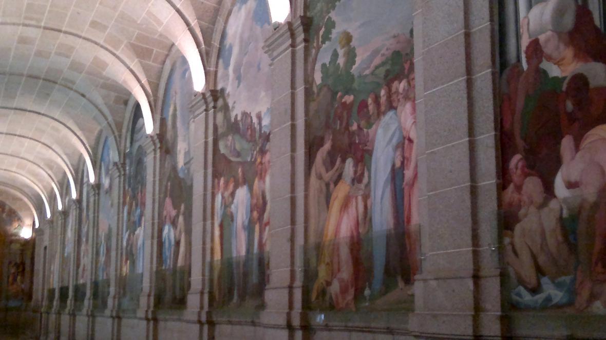 Fresky v El Escorialu