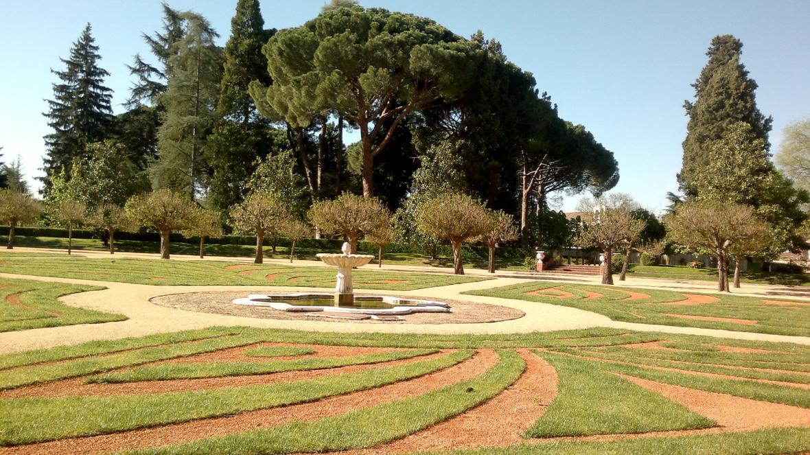 Park zámku El Pardo