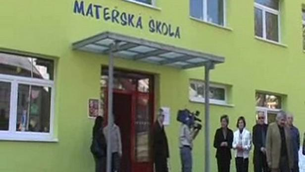 Nová školka v Jáchymově