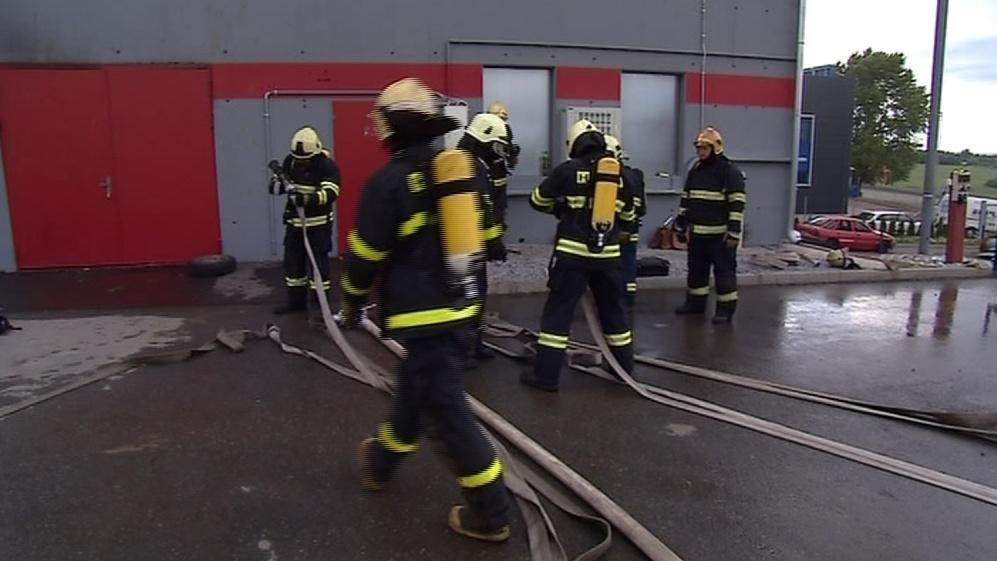 Hasiči mohou v brněnském středisku nacvičovat nebezpečné situace