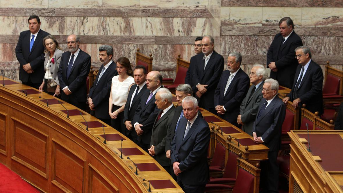 Řecká přechodná vláda