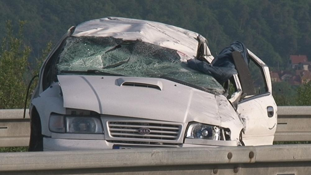 Ranní nehoda skončila tragicky