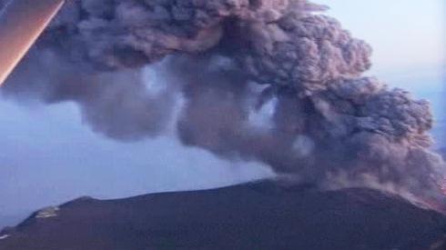 Sopečný mrak nad Islandem