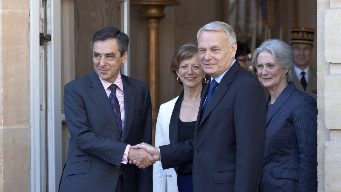 Francois Fillon a Jean-Marc Ayrault