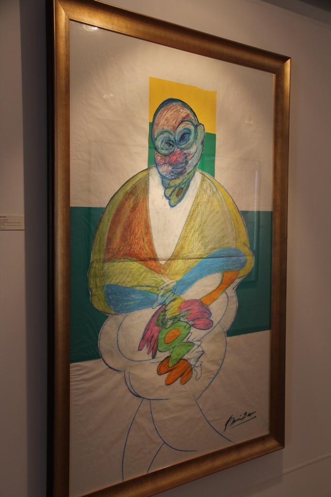 Francis Bacon / kresba