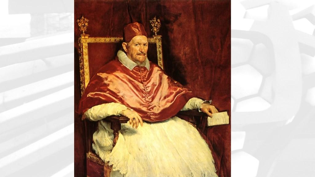 Diego Velázquez / Inocent X.
