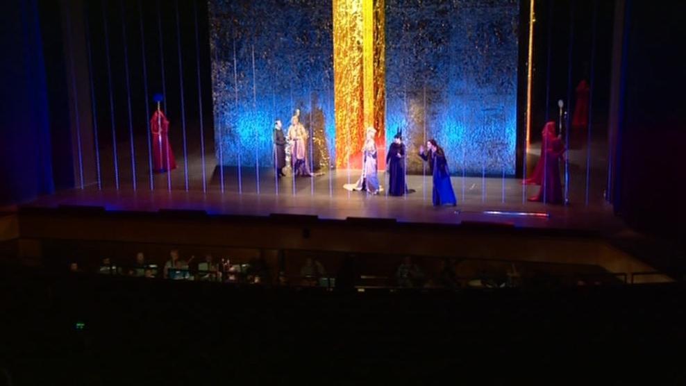 Opera Elektra v Janáčkově divadle v Brně