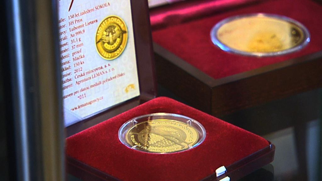 Pamětní mince Sokola