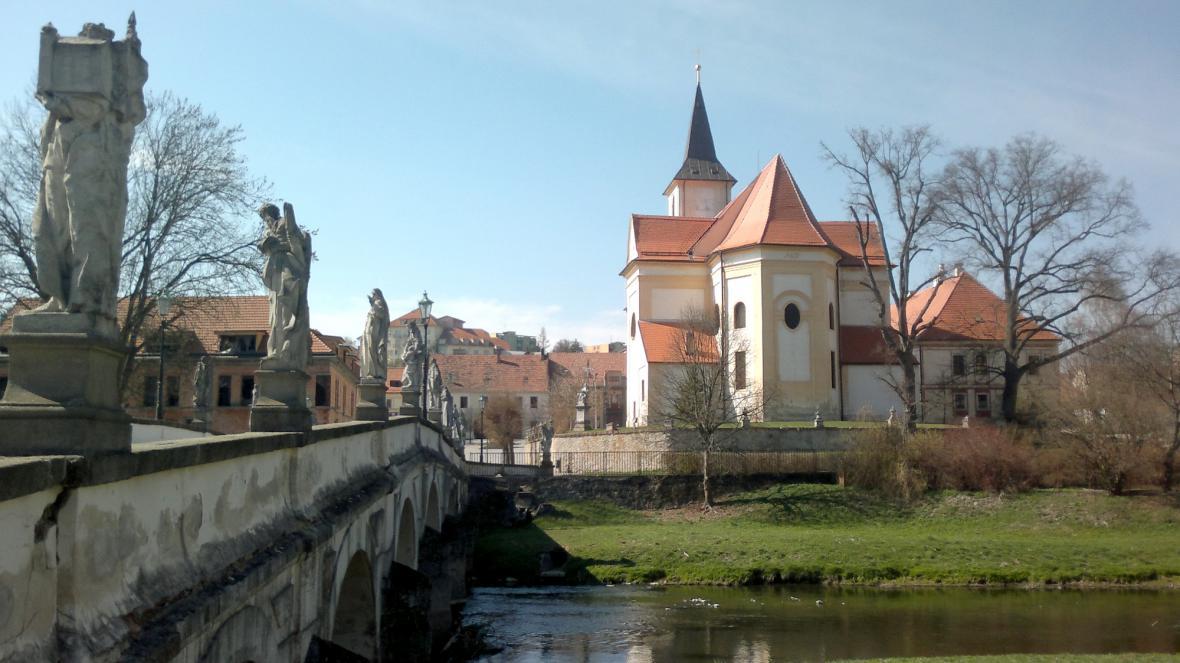 Městečko Náměšť nad Oslavou