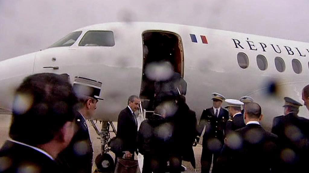 François Hollande odlétá do Německa