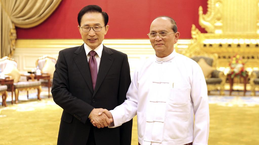 I Mjong-bak  a Thein Sein
