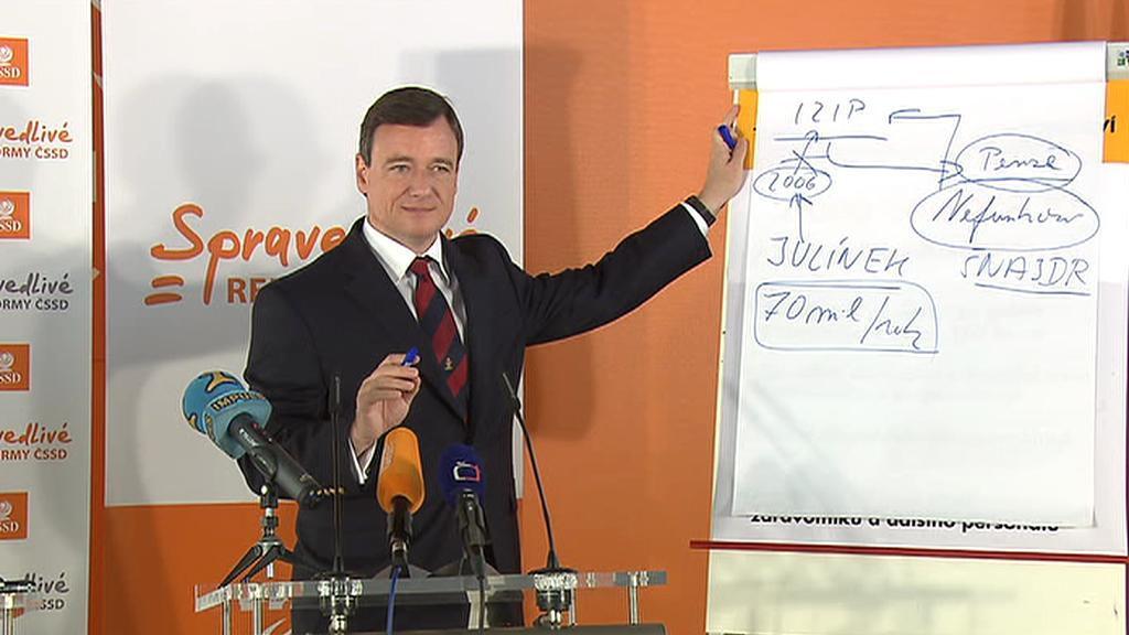 David Rath během tiskové konference k zastavení IZIPu