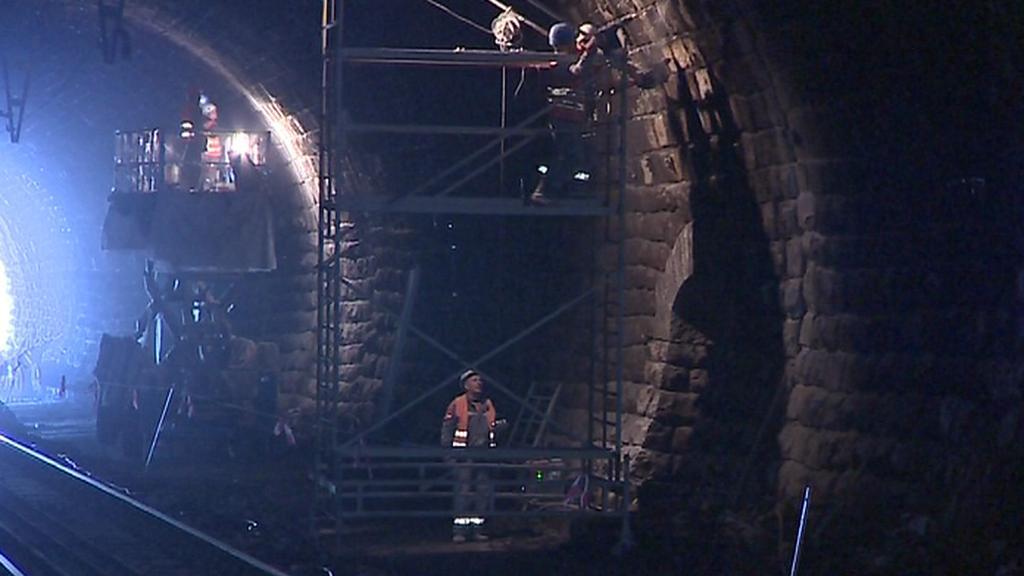 Oprava tunelu