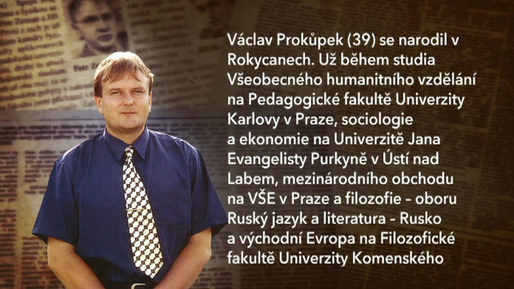 Výňatek ze životopisu Václava Prokůpka