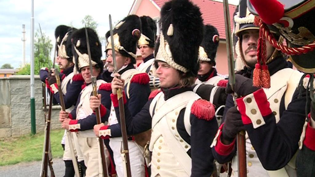 Napoleonské slavnosti ve Velkém Týnci na Olomoucku