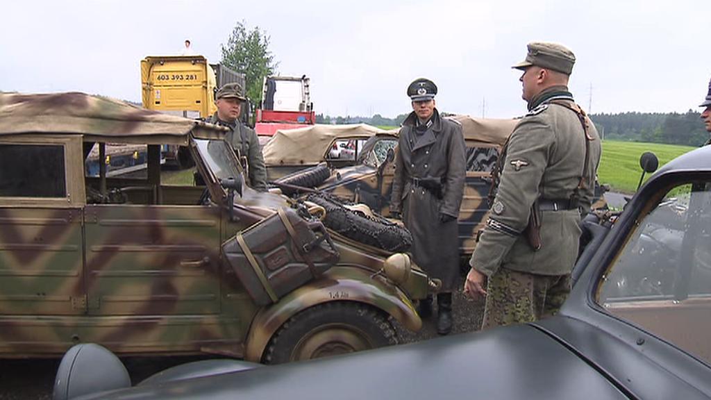 Rekonstrukce bitvy u Milín 2012