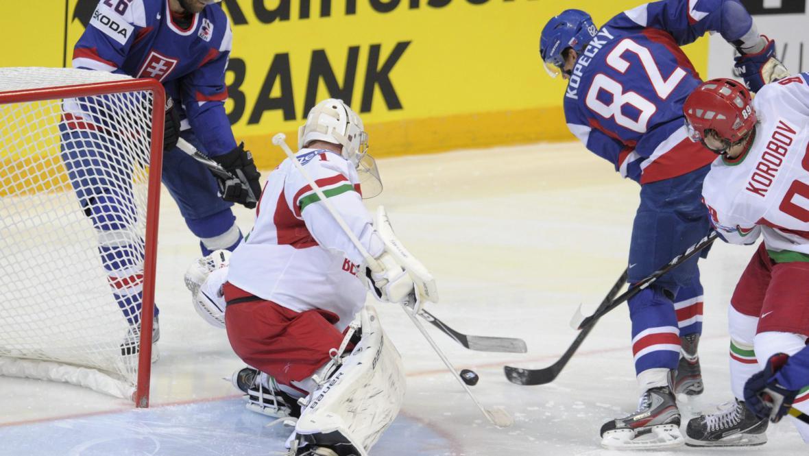 Utkání Slovensko - Bělorusko