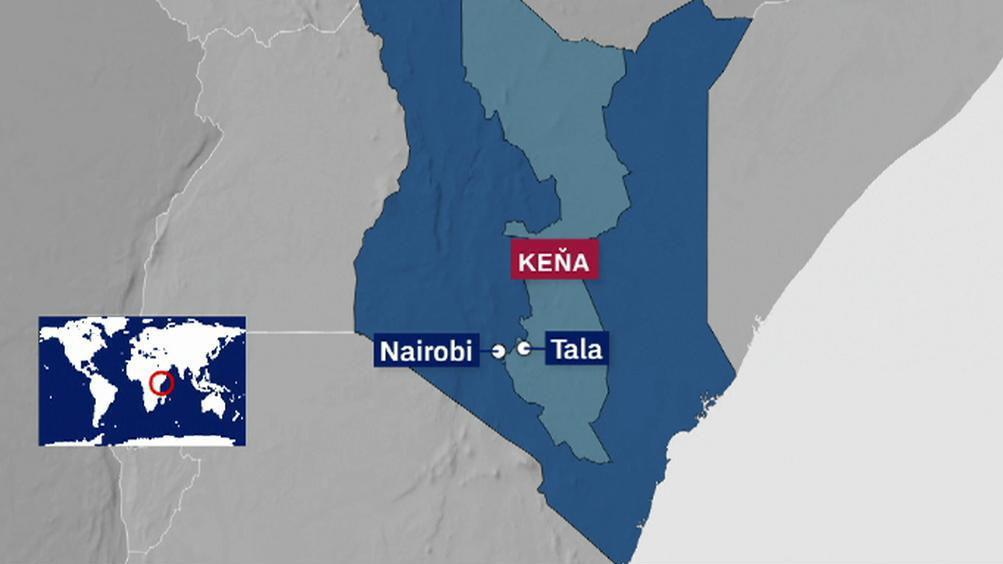 Mapa Keni
