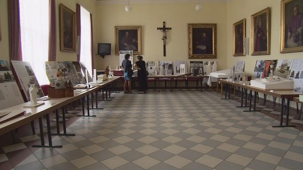 Výstava návrhů památníku Cyrila a Metoděje