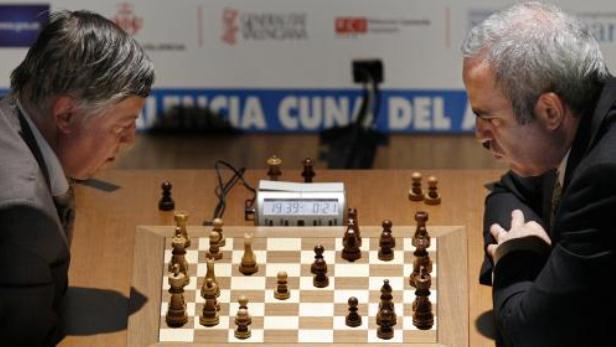 Anatolij Karpov a Garry Kasparov