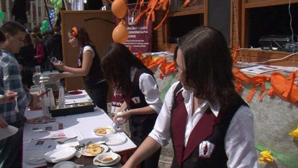 Program majálesu obstarali z velké většiny sami studenti