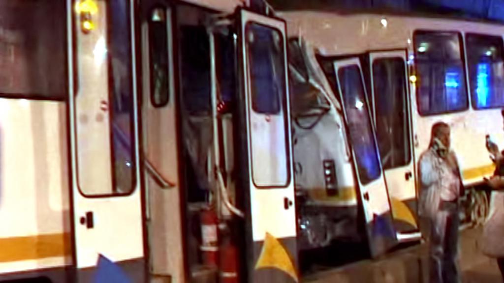 Srážka tramvají v Bukurešti
