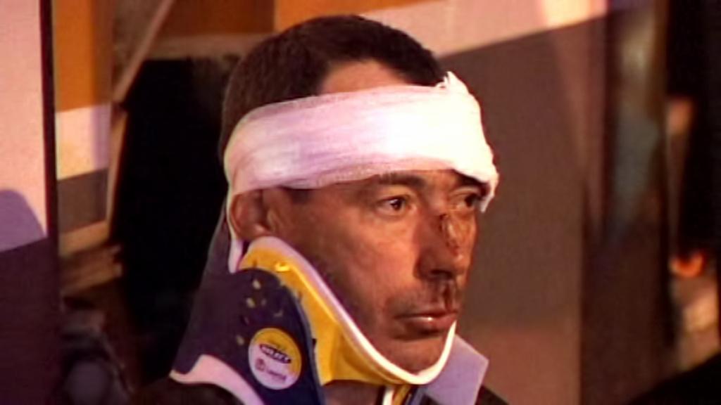 Muž zraněný po srážce tramvají v Bukurešti