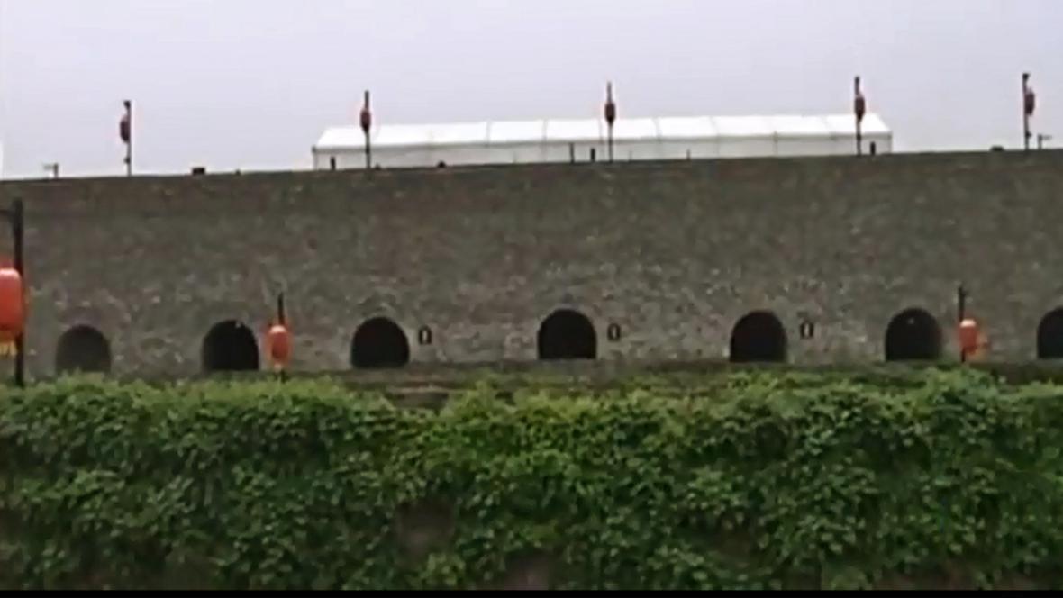 Historické opevnění v Nankingu