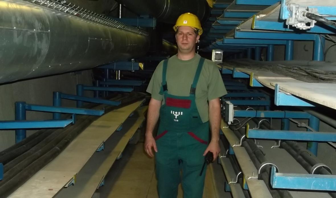 Otevření podzemních kolektorů