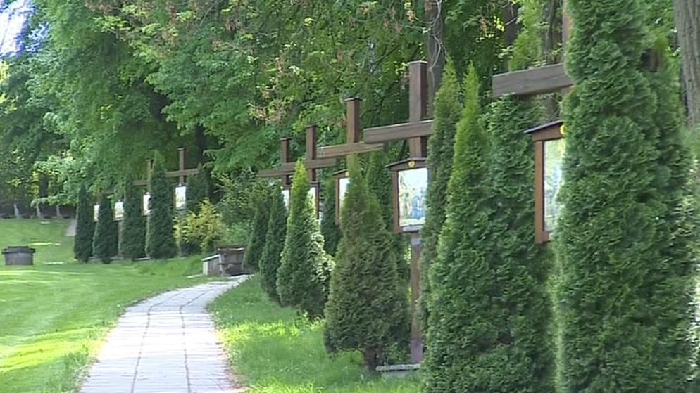 Křížová cesta v Křepicích
